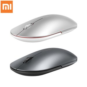 Xiaomi Fashion Mouse Portable Wireless Game Mouse 1000dpi 2.4GHz Bluetooth Link Optical Mini Metal Mouse