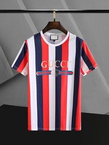 2020 New Arrival été Designer hommes T-shirt à manches courtes Hip Hop Slim T-shirts Tops T-shirts Méduse mode Casual Mant Sh