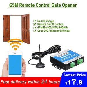 RTU5024 GSM Gate Opener Relay Switch Remote Control Door Access Wireless Door Opener By Free Call 850 900 1800 1900MHz w Antenna