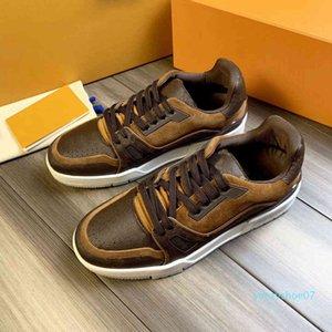 2020 Gray Платформа Кроссовки Обувь Цветы Дизайн Chaussures черные вскользь плоские ботинки Оптовая Новая версия Рождественский подарок Y07