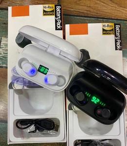 Модный стиль TWS Bluetooth-гарнитура Светодиодный дисплей Наушники VS F9 B10 Для всех смартфонов Samsung S10 Note 10 Universal