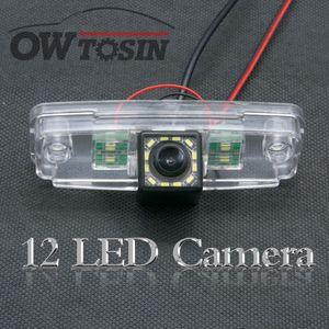 12 LED light Car Reverse Rear View Camera For Impreza 3 WRX STi 2007 2008 -2011 Night Vision Parking Backup Camera