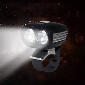 Front Bike Headlight 2* XML U2 LED Bicycle Lamp USB Thread Interface Cycling Light 5 Modes Energy Saving Torch No Battery