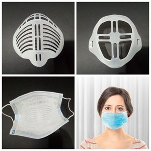 3D Mouth Mask Support Breathing Assist Help Mask Inner Cushion Bracket Food Grade Silicone Mask Holder Breathable Valve YYA361