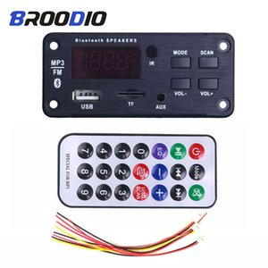 Car MP3 Player Music Speakers Wireless Bluetooth 5.0 MP3 WMA Decoder Board Audio Module Support USB TF AUX FM Audio Radio