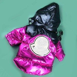 trasporto libero vestiti del cane popolare stazione vestito dell'animale domestico piumino pelo del cane pesce palla in modo fresco bello cane cappotto barboncino della nave di goccia 2 colori California