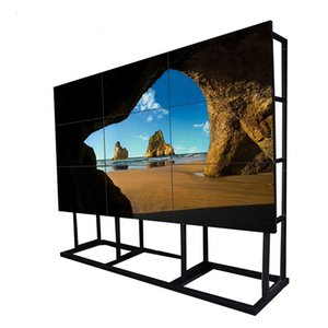 DID 55 inch 1.7mm LCD Video Wall 3x3 monitor video wall Narrow Bezel for LCD advertising display digital signage