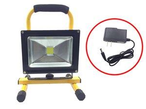 20W COB LED, 스포트 라이트, 내장 충전식 리튬 배터리, 휴대용 투광 조명, 방수, 옥외 조명, 사냥, 캠핑, 홍수 빛