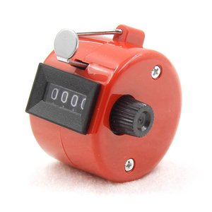 Sayaçlar 8 Renk Dijital Tasbih Sayacı 0-9999 El Takım ABS Mekanik Clicker Mini Hesap Makinesi Sayı Aracı