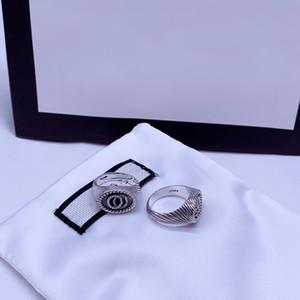 Alta calidad 925 anillo de plata esterlina retro torsión anillo de encaje anillo de moda tendencia de joyería de todos los partidos