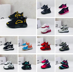 Kids Running Shoes AIR MAX 720 Cushion Casual Shoes Boys Girls Leisure Sports Sneakers New Youth Children infant Running Jogging Breathable