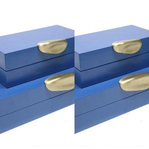Модель номер Новых китайского стиля ювелирных изделия хранения Jade Solid ящик для хранения древесины Отеля выставочного зала фланели шкатулка 6ZDF1