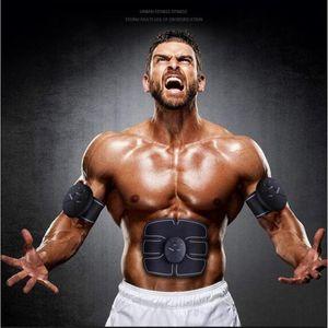 Eletric stimolatore muscolare autoformazione ABS stimolatore elettrico stimolazione addominale Cintura SME Trainer Massaggi anti Massager delle celluliti