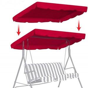 정원 마당 야외 캠핑 해먹 비치 Sun 대피소 의자 천막 들어 190x132cm 방수 상단 덮개 캐노피 교체