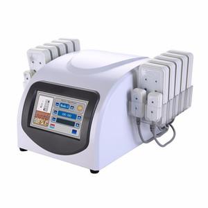 Taşınabilir Ev Lipolaser Profesyonel Zayıflama Makinesi 10 Largepads 4 Smallpad Lipo Lazer Güzellik Ekipmanları Ücretsiz Kargo