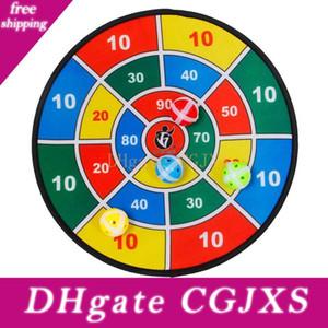 Juguetes deportivos Tela Dart Board Set Kid Ball Target Game para juguetes de seguridad para niños con 8 bola de dardos pequeños