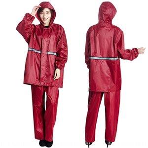 Ser ttmbu yikelai chuva de chuva de chuva de chuva e split único não-descartável 8asir servido pants proteção de trabalho adulto capa de chuva leame mjnu