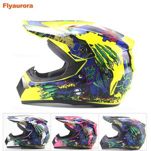 Full Face Motorcycle Helmet Professional Racing Helmet DOT Rainbow Visor Motocross Off Road Touring men and women four seasons