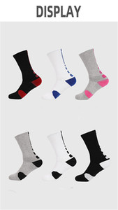 Antiskid Basketball Socks Long Knee Athletic Sport Socks Men Fashion Compression Thermal Winter Warm Socks wholesales Y060