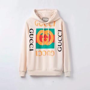 hoodies Pull design femmes lettres imprimé Sweat dames élégantes sport Sweats à capuche Blanc Noir Hoodies Casual