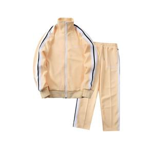 Meichao palmiye takım renkli dokuma uzun pantolon spor yan pa erkekler rahat takım elbise erkek eşofman melek giyotin ayısı yavrularının takım izlemek