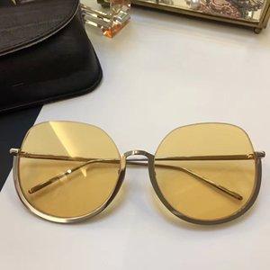 LFL579 Fashion Sunglasses With Coating Mirror Lens 579 Sunglasses UV Protection Popular Designer Half Round Frame Top Quality
