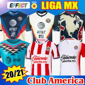 Novas camisas de futebol do Club America Soccer Jersey 19 20 21 2020 2021 Mexico Club Jersey Xolos de Tijuana Tigres UNAM Guadalajara Chivas Cruz Azul kit Camisas de futebol
