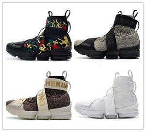 친척 신발 놓은 디자이너 스포츠 운동화를 실행하는 새로운 15 XV 라이프 스타일 지퍼 스트랩 농구 신발 15 초 롱 라이브 왕 남성 X