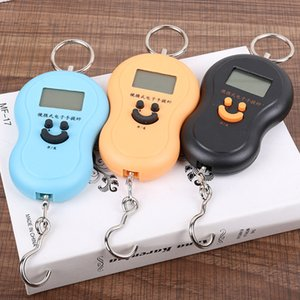 Gourd Shape Scale 50Kg 10g Portable Handy Pocket Precision Hook Kitchen Scales Mini Electronic Digital LCD Scale Kitchen Tools GGA3626-1