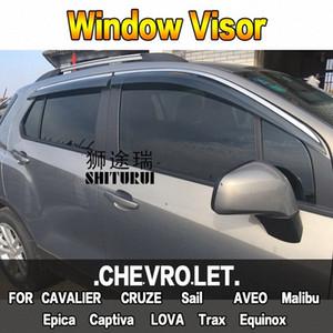 Fenêtre Visor Vent Sun pluie Déflecteur Garde Pour CHEVROLET CAVALIER CRUZE Voile AVEO Epica Captiva LOVA Trax Equinox Sedan wXtO #