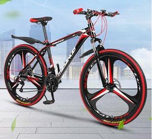 2020 / 20SS абсорбция горного велосипеда шока 26-дюймовая дисковый тормоз 21 скорости горного велосипеда студента взрослый велосипед исследователь три- нож колесо