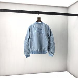 20FW Autunno Inverno Europa Francia Paris Fashion mens giacche ricamate lettera sella borsa di baseball giacca dell'uniforme del rivestimento di alta qualità winte
