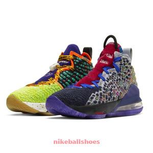 mens baratos novas lebron 17 XVII tênis de basquete EP para venda O tênis As crianças CV8079-900 Courage CD5054-001 LeBrons james sneakers
