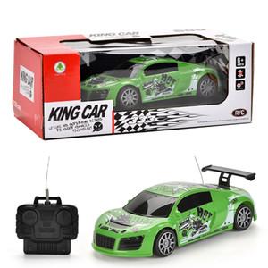 1:24 rc voiture modèle quatre directions voitures de course de commande à distance véhicule dérive cascadeurs garçon anniversaire jouets