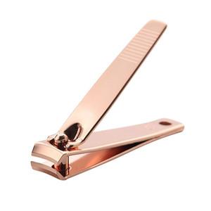 Professional Nail Unha Clippers aço carbono de alta qualidade cortador Rosa de Ouro Scissors Toe Repair dedo Toe Ferramentas dedo