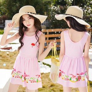 Uopdh Nuovo vestito per bambini Studente PRINCESS PRINCESS Swimsuit one-piece Korean Ins PRINCESS Gonna Girl Swimsuit NT865381