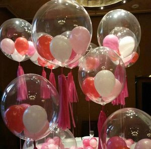 삼십육인치 보보 거품 명확 풍선 웨딩 크리스마스 생일 사슴 처녀 파티 장식 투명 풍선 축제 이벤트 장식 q5K6 #