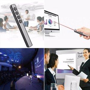 Lazer Pointer Kablosuz Sunum Kalem USB Uzaktan Kumanda Sunum Clicker PPT Öğretim İşaretçi çevirin