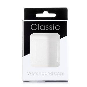 200 pcs Retail Box Embalagens para iWatch Caso DIY Logo Printing Paper Package Box para Apple Watch Tampa Com Inner Bandeja frete grátis