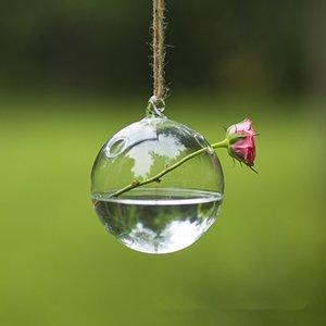 Diameter=8cm Transparent Glass Pendant Diameter=8cm 10cm 12cm 15cm Christmas Glass Pendant Wedding Decoration Terrarium