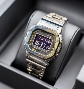 Platz Camo Farbe Shock Uhr Stainless Sreel 5000 Wasserdichte Designer Uhren Uhr Geschenke für Jungen Großhandel Hohe Quailty Schock Sport-Uhr