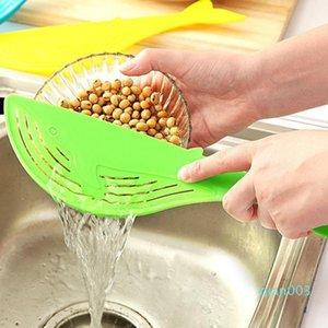 10Pcs Lächeln Typ Reinigungs Reis Waschen Entwässerungssieb Abtropffläche Gerät Sieb Kochen Werkzeuge Debrisfilter Küchenhelfer wh0859 Clip