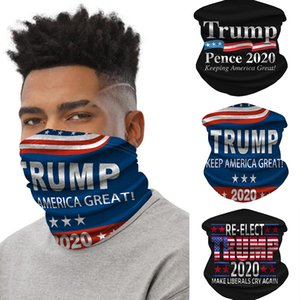 Trump Outdoor Bandanas Seamless HWF751 Neck Magic Tube America Keep Great Face Sports Cycling Headwear Headbands Gaiter Party Mask Scar Asbq
