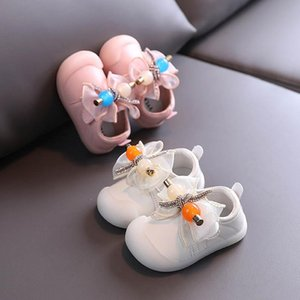 Sweet baby shoes rhinestone lace bowknot baby girl shoes toddler shoes princess first walker shoe Infant Shoe baby footwear retail
