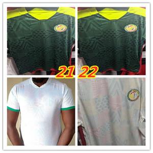 타이어 (21) (22) 세네갈 축구 유니폼 최고 품질 2022 월드컵 세네갈 국가 갈기 축구 팀 축구 셔츠 축구 셔츠