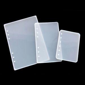 Epoksi Reçine Kalıpları Hazırlanır 1pc A5 A6 A7 Notebook Kapak Silikon Kalıp Reçine Silikon Kalıp El Yapımı DIY Takı