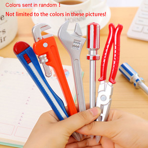 Novelty Stylish Hardware Tool Shape Pen Students School Office Stationary