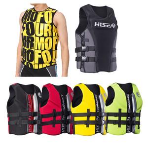 Premium Neopren-Schwimmweste für Männer Frauen Jugendliche Erwachsene Max Größe XXXL über 95kg Life Jacket