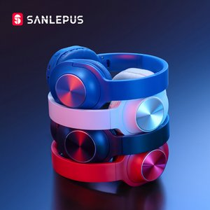 SANLEPUS Bluetooth Wireless Headphones Portable Stereo Headset with Mic For Music Earphone For