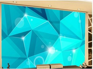 Custom 3d wallpapers Fashion geometric living room background wall 3d murals wallpaper for living room
